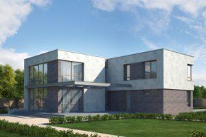 Проект Берген 375 м²