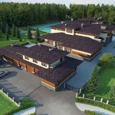 Проект Брюссель, 1500 м²